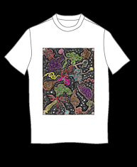 """the brain"" tshirt"