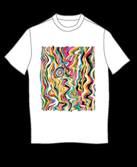 """Abstract"" tshirt"