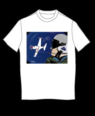 """Air Combat"" tshirt"