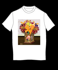 """Autumn Bouquet"" tshirt"