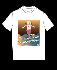 """Mermaid"" tshirt"