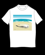 """Message In A Bottle"" tshirt"