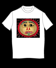 """Native American Mask"" tshirt"