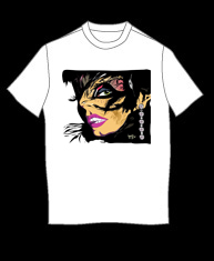 """Feather Woman"" tshirt"